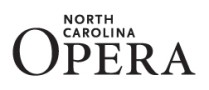 Official Media Partners of NC Opera